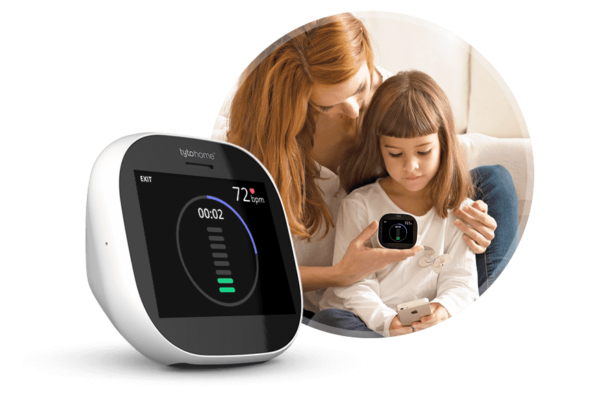 Tyto Home Heart Exam Monitoring Device